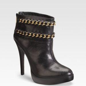 Tory Burch Lysa chain boots